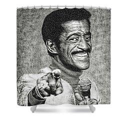 Sammy Davis Jr - Entertainer Shower Curtain