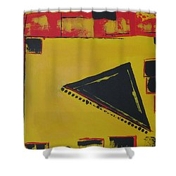 Shower Curtain featuring the painting Samurai Honor by Sharyn Winters