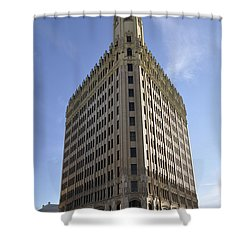 San Antonio Building 2 Shower Curtain