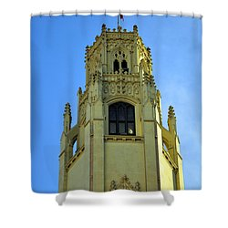 San Antonio Building 4 Shower Curtain