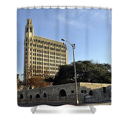 San Antonio Building Shower Curtain