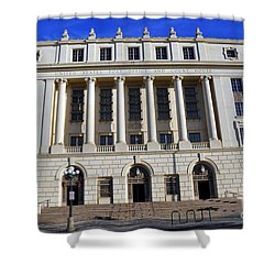 San Antonio Post Office Shower Curtain
