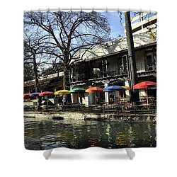 San Antonio River Walk 2 Shower Curtain