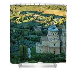Shower Curtain featuring the photograph San Biagio Church by Brian Jannsen