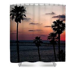 San Clemente Shower Curtain by Ralf Kaiser