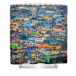 San Cristobal Shower Curtain