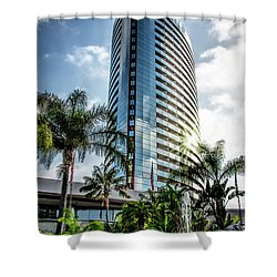 San Diego Marriott Marquis Shower Curtain