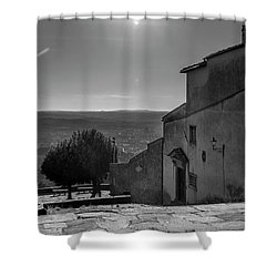 San Francesco Monastery - Fiesole, Italia. Shower Curtain