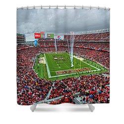 San Francisco 49ers Levi's Stadium Shower Curtain