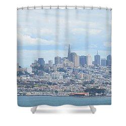 San Francisco Shower Curtain by Alex King