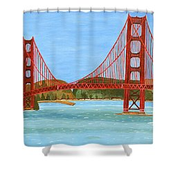 San Francisco Bridge  Shower Curtain