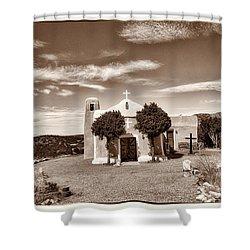 San Francisco De Asis  Est 1839 Shower Curtain by Robert FERD Frank