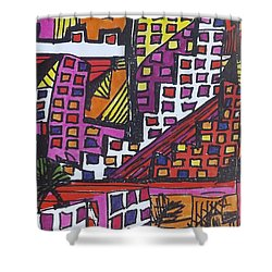 San Francisco  Shower Curtain by Don Koester