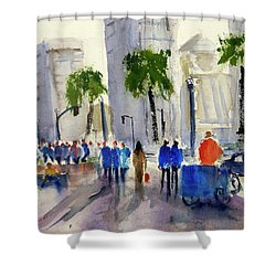 San Francisco Embarcadero Shower Curtain