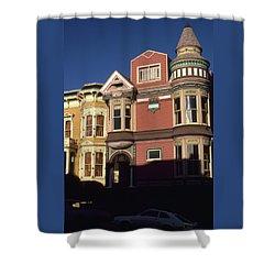 San Francisco Haight Ashbury - Photo Art Shower Curtain