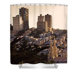 San Francisco Light Shower Curtain