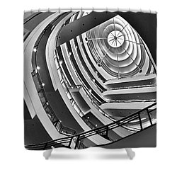 San Francisco - Nordstrom Department Store Architecture Shower Curtain