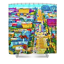 San Francisco Quintara View Shower Curtain