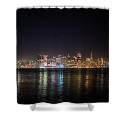 San Francisco Shot Shower Curtain