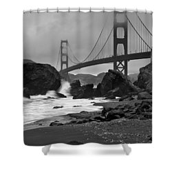 San Francisco Summer Shower Curtain