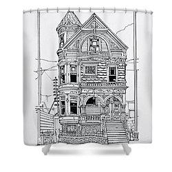 San Francisco Victorians  Shower Curtain