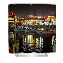 San Francisco's Fisherman's Wharf Shower Curtain