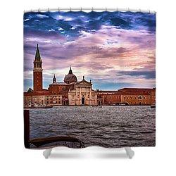 San Giorgio Di Maggiore Church Shower Curtain
