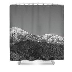 San Gorgonio Mountain-1 2016 Shower Curtain
