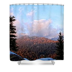 San Jacinto Mountains - California Shower Curtain