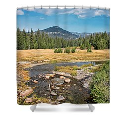 San Joaquin River Scene Shower Curtain