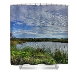 San Joaquin Wildlife Reserve Shower Curtain