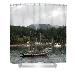 San Juan - Orcas Island  Shower Curtain