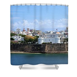 San Juan #1 Shower Curtain by Lois Lepisto