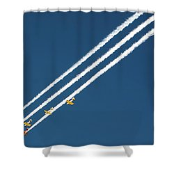 San Juan Aces Shower Curtain
