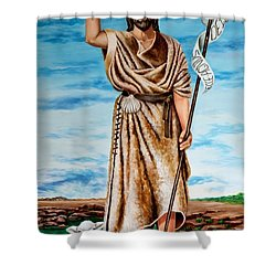 San Juan Bautista Shower Curtain