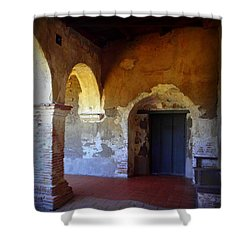 San Juan Capistrano Mission Shower Curtain