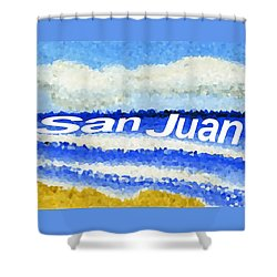 San Juan  Shower Curtain by Dick Sauer