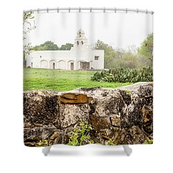 San Juan  Mission Shower Curtain