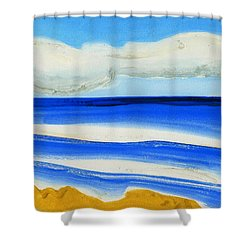 San Juan, Puerto Rico Shower Curtain by Dick Sauer