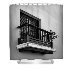 San Juan Window 2 Shower Curtain by Perry Webster