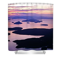 San Juans Tranquility Shower Curtain