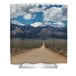 San Luis Valley Back Road Cruising Shower Curtain by James BO Insogna