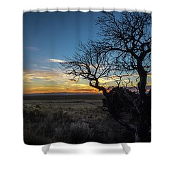 San Luis Valley Sunset - Colorado Shower Curtain