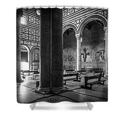 San Miniato Al Monte Shower Curtain