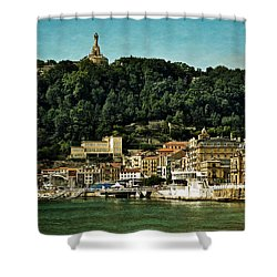 San Sebastian Spain Shower Curtain