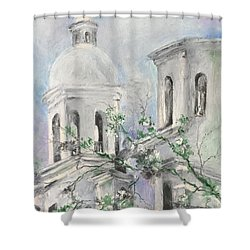San Xavier Mission Shower Curtain