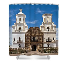 San Xavier Mission Shower Curtain
