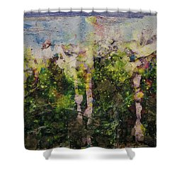 Sanative Shower Curtain