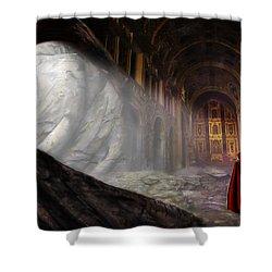 Sanctum Shower Curtain by John Edwards