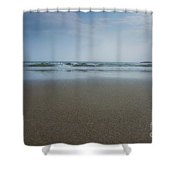 Shower Curtain featuring the photograph Sand by Alana Ranney